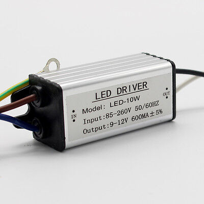 Waterproof LED Chip Driver Power Supply Transformer AC 85-265V-DC9V-38V 10-100W