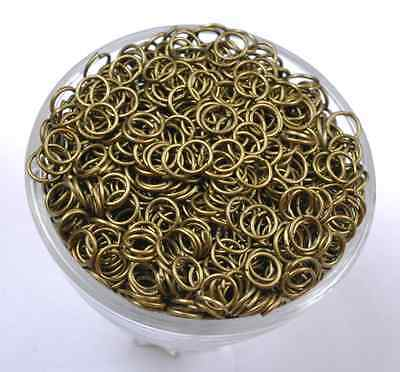 4MM 5MM 6MM 7MM 8MM 9MM 10MM Jump Rings Open Connectors Jewelry Make Findings