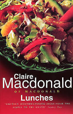 """AS NEW"" Macdonald, Claire, Lunches, Paperback Book"