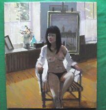 Studio Nude Venice : Oil Painting : Zlatan Pilipovic : Give Fine Art