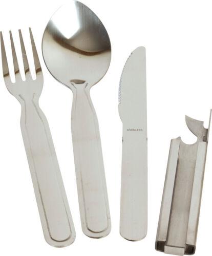 Nuevo Kombat UK la OTAN Kfs lío Set Cuchillo Tenedor Cuchara abridor al aire libre Camping cutlery