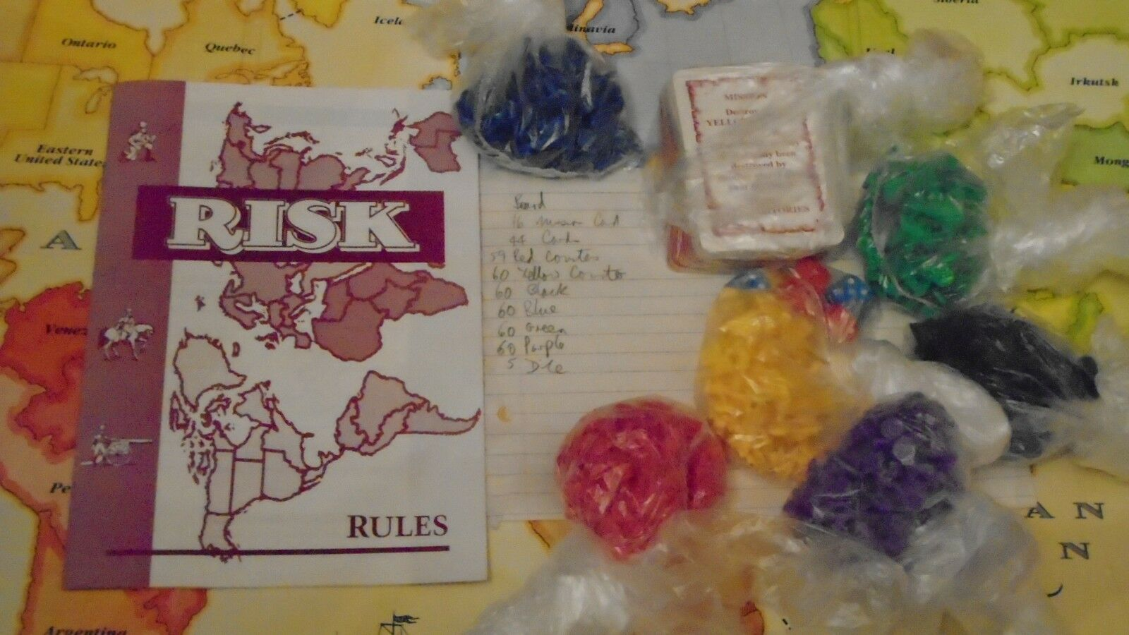 Risk board game in very good condition condition condition 1996.   free post to UK 8e8c49