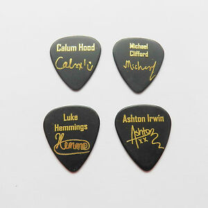 how to put a picture on a guitar pick