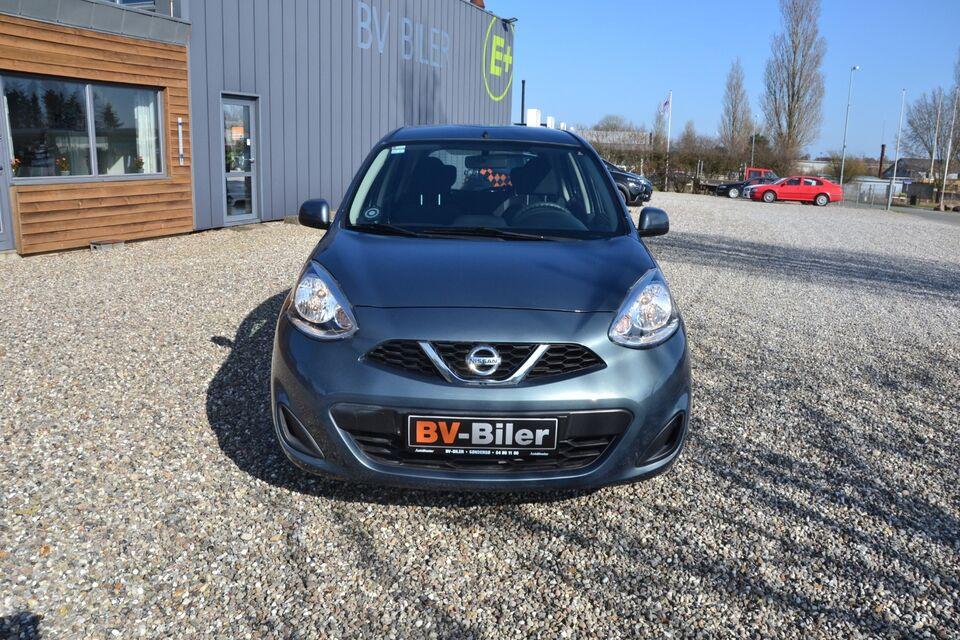 Nissan Micra 1,2 Visia Benzin modelår 2015 km 70000