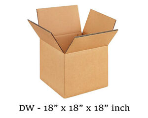 60 X-LARGE REMOVAL DOUBLE WALL STRONG BOXES 18x18x18/""