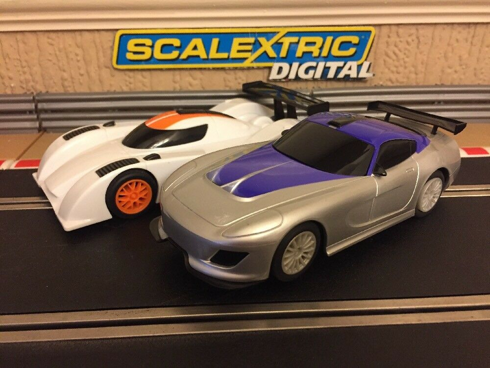 Scalextric Digital 2x Le Mans Predotype & GT Cars Brand New