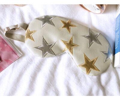 New Free People Understated Leather Starry Eye Mask Sleeping Travel Pack Ebay