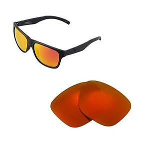 57ef8a6e35 Image is loading Walleva-Polarized-Fire-Red-Replacement-Lenses-For-Smith-