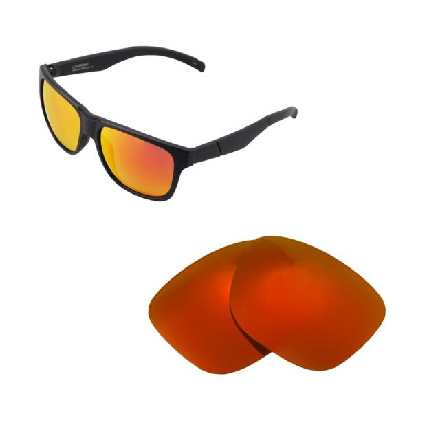 bf05c5f8ba Buy Walleva Polarized Fire Red Replacement Lenses for Smith Lowdown ...