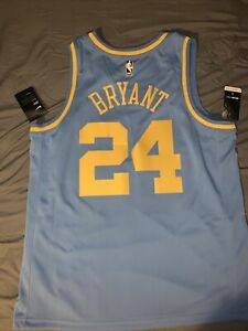 Kobe Bryant MPLS Los Angeles lakers Mamba Nike Swingman Jersey XL ...