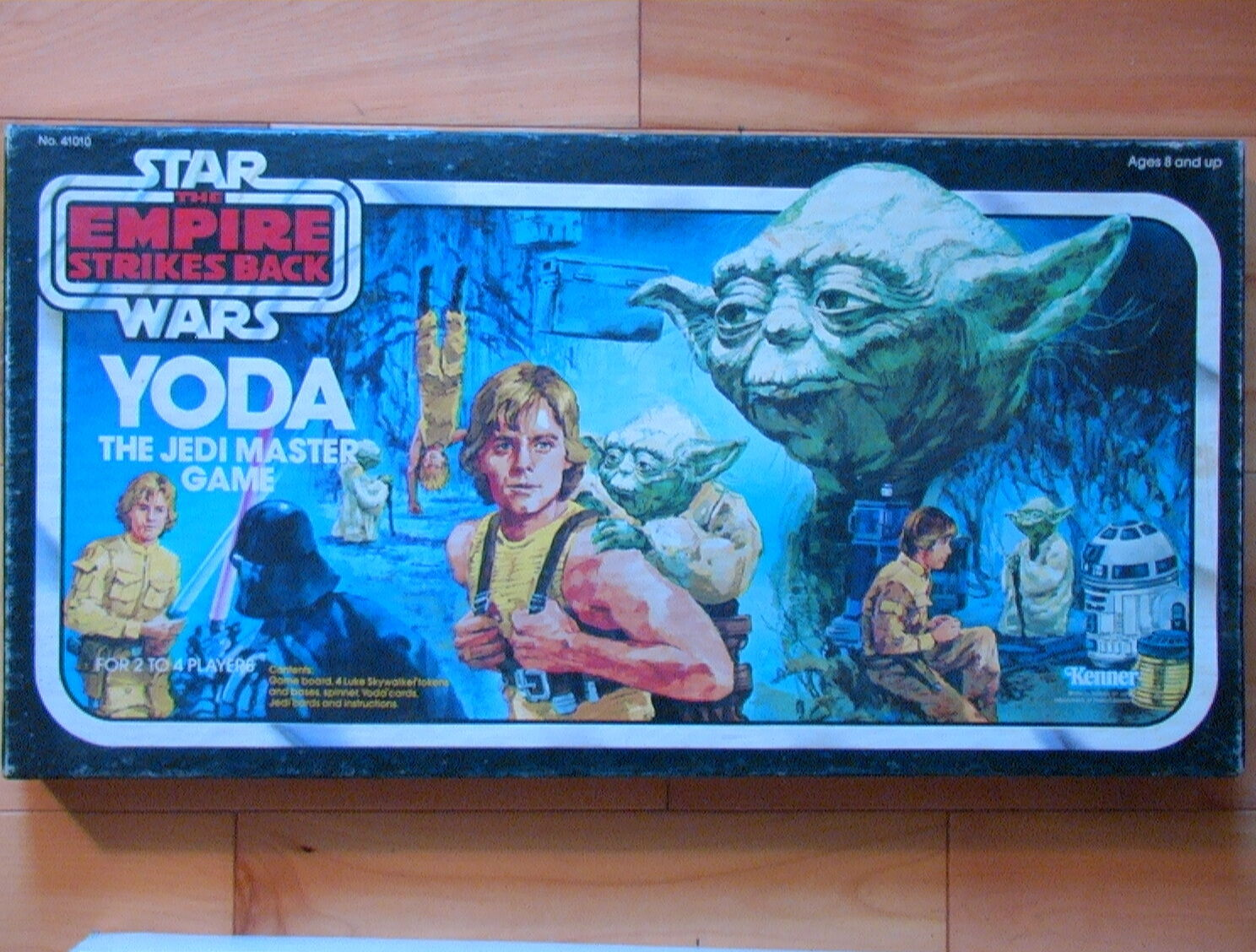 Star Wars VINTAGE 1982 Yoda the Jedi Master Master Master Board Game Kenner 100% Complete ESB  bf0518