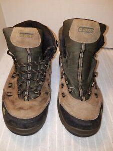 79709569f8b Details about Hi-Tec Men's Bandera Mid Waterproof Hiking Boots Sz 11 Brown