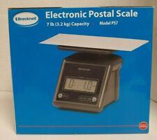 Brecknell Ps7 7lb X 01 Oz Electronic Postal Scale 55 X 52 Platform