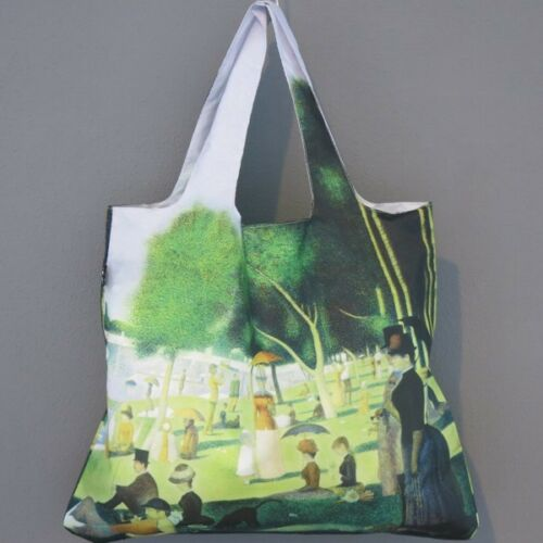 LOQI Tasche GEORGE SEURAT Sunday island grande jatte bag Museum Falt-Shoppe
