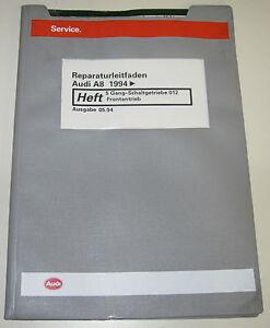 Werkstatthandbuch-Audi-A8-D2-4D-5-Gang-Schaltgetriebe-Frontantrieb-ab-1994