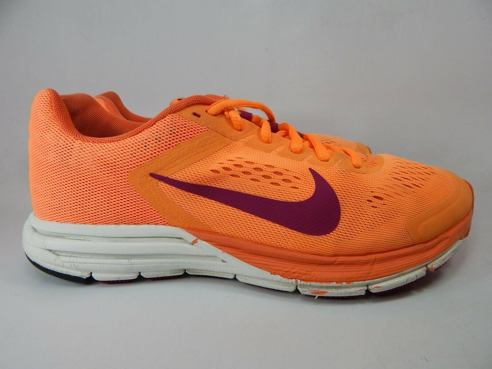 vendita economica ultime tendenze del 2019 Garanzia di soddisfazione al 100% Nike Air Zoom Structure 17 Womens Trainers 615588 010 UK 5.5 EU 39 ...