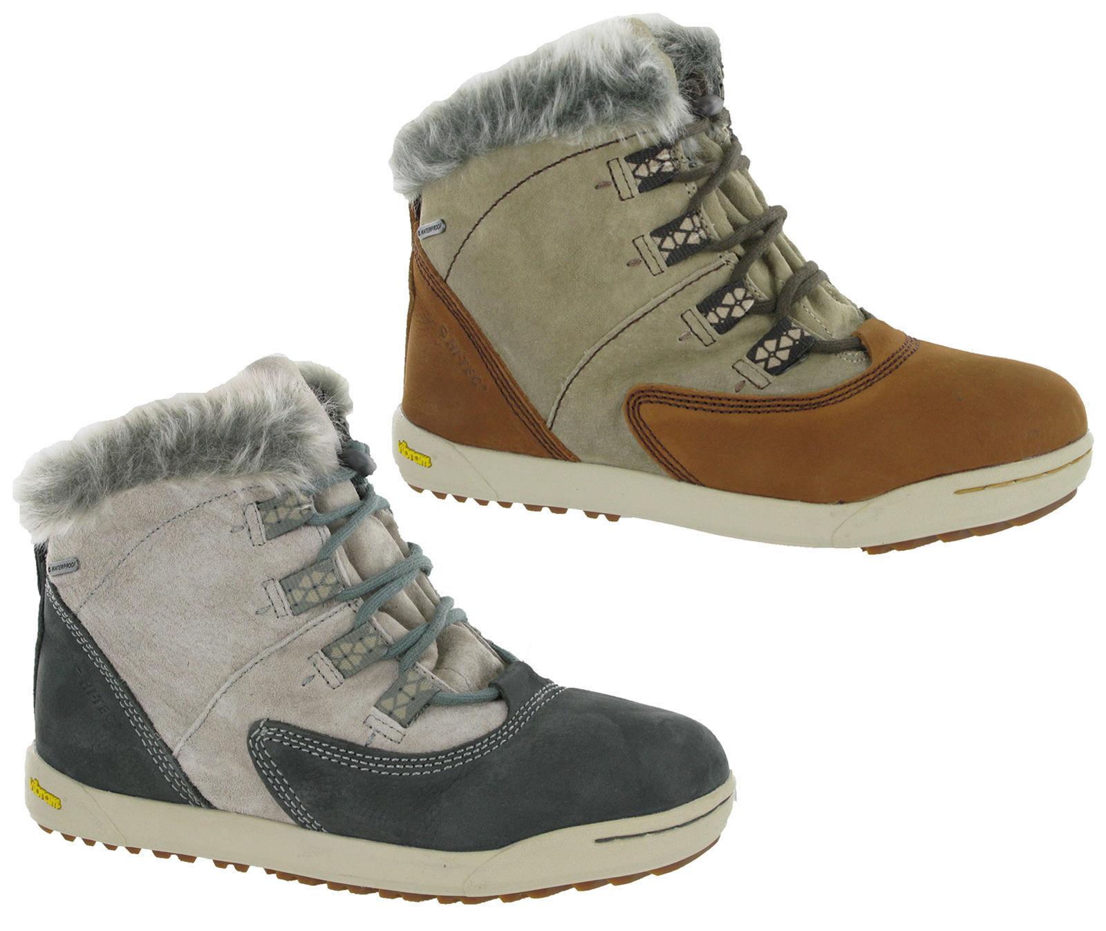Hi-Tec Sierra Sina 200 WP Waterproof Thermal Ankle Walking Boots Womens