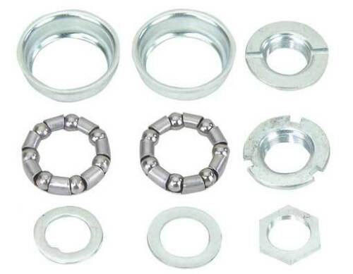 Bottom Bracket Set 1//Piece Crank 5//16x7 24t Chrome. 111303