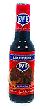 EVE BROWNING - 2 BOTTLES - JAMAICAN BROWNING - MAKES GREAT FRUIT CAKE - 5 OZ EA.
