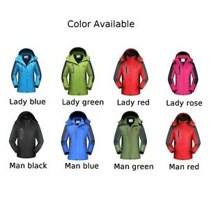 Outdoor Coats Plus Thick Plus Velvet Polyester Sport 2L~6XL Camping & Hiking