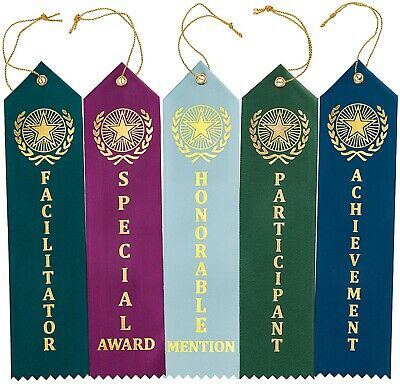 Rosette Honorable Mention Double Streamer Award Ribbons ...   Honorable Mention Trophy