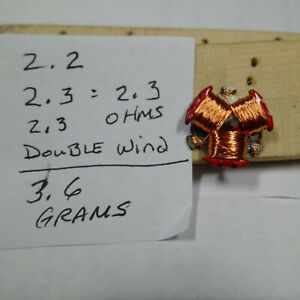 1.2 Ohms! TJet AFX Aurora single wind armature motor arm