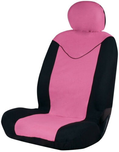 Sumex Unicorn Universal Single Padded Foam Front Car Seat Cover in Pink /& Black