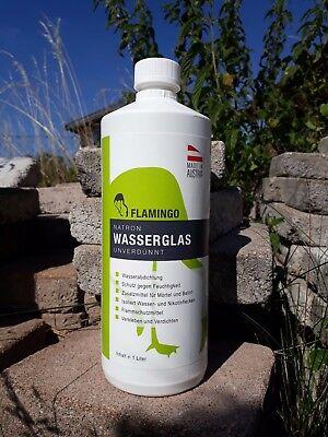 Farben Verkleben Und Isolieren Auswahlmaterialien Business & Industrie Kraftvoll Natron Wasserglas Unverdünnt 1 Liter Zum Abdichten