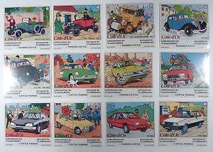 Hergé autocollants Série: gagnez et rouler avec Tintin Comme neuf