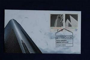 Modern-American-Architecture-Stamp-FDC-Heritage-S-3910g-i-HT88-Yale-Natl-Gallery