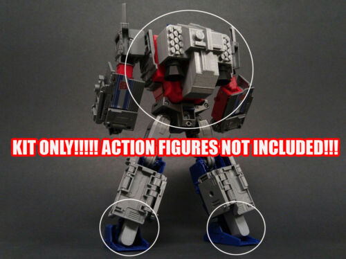 DSA-05 Transformers PotP Optimus Prime /& Orion Pax Back /& Jetpack kit.