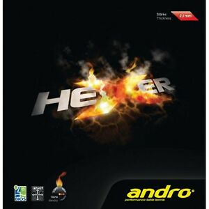 Andro Hexer Table Tennis Rubber Ebay