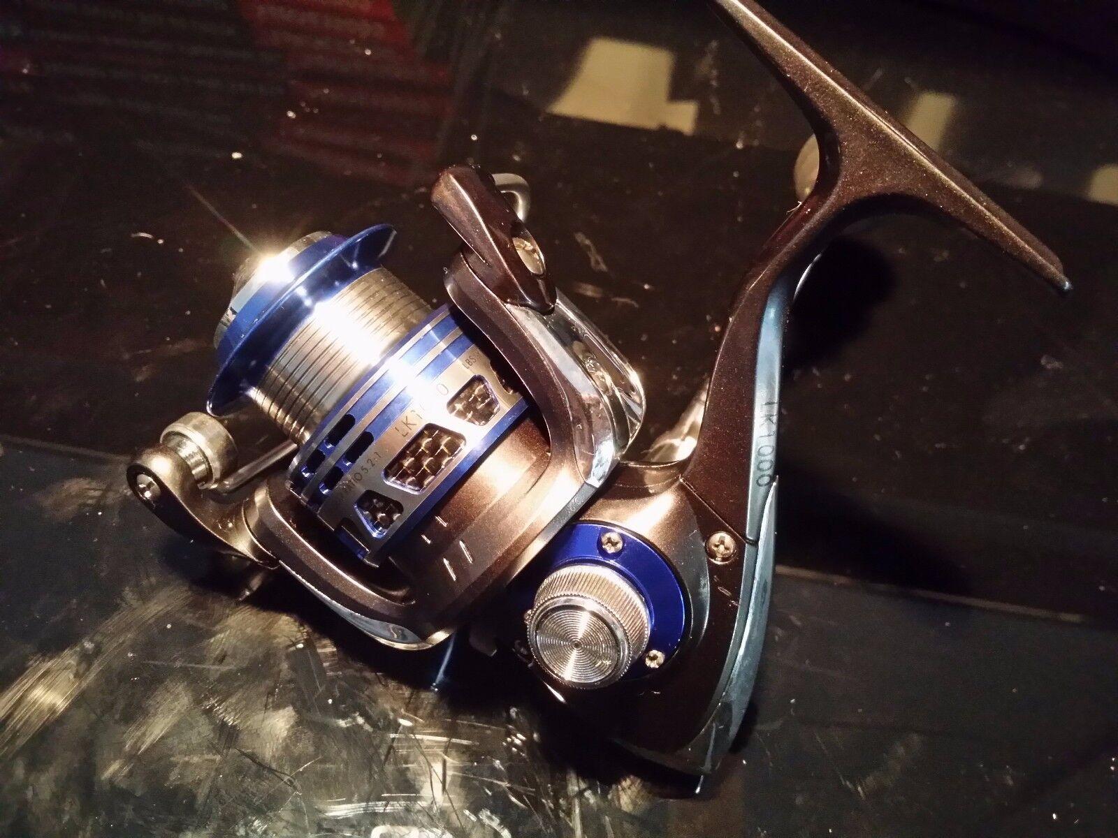 Brand new castorm LA1000 Spinning fishing Reel Metal Frame 6 + 1 BBs