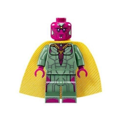 LEGO 76103 - Marvel Super Heroes - Vision (Yellow Spot) - Minifig / Mini Figure