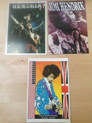 Carte Postale_jimi Hendrix_blues_seattle_curtis Knight_postcard Superieure (In) Kwaliteit