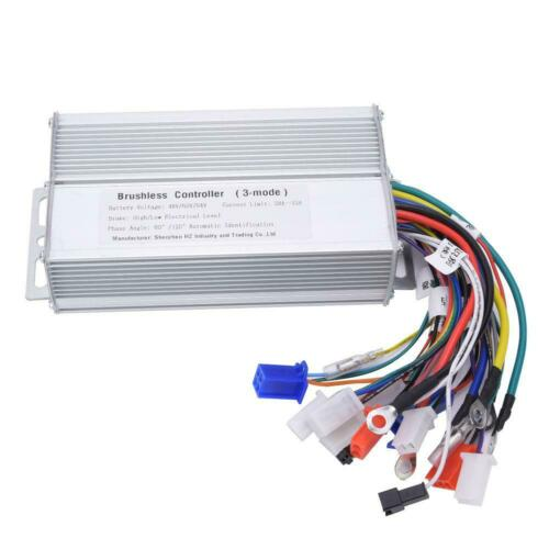 48//60//64V 1000W-1500W Electric Bicycle Scooter Brushless Speed Motor Controller