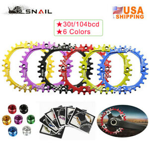 30T-Single-104bcd-Narrow-Wide-Chainring-XC-BMX-MTB-Road-Bike-Chainwheel-Sprocket