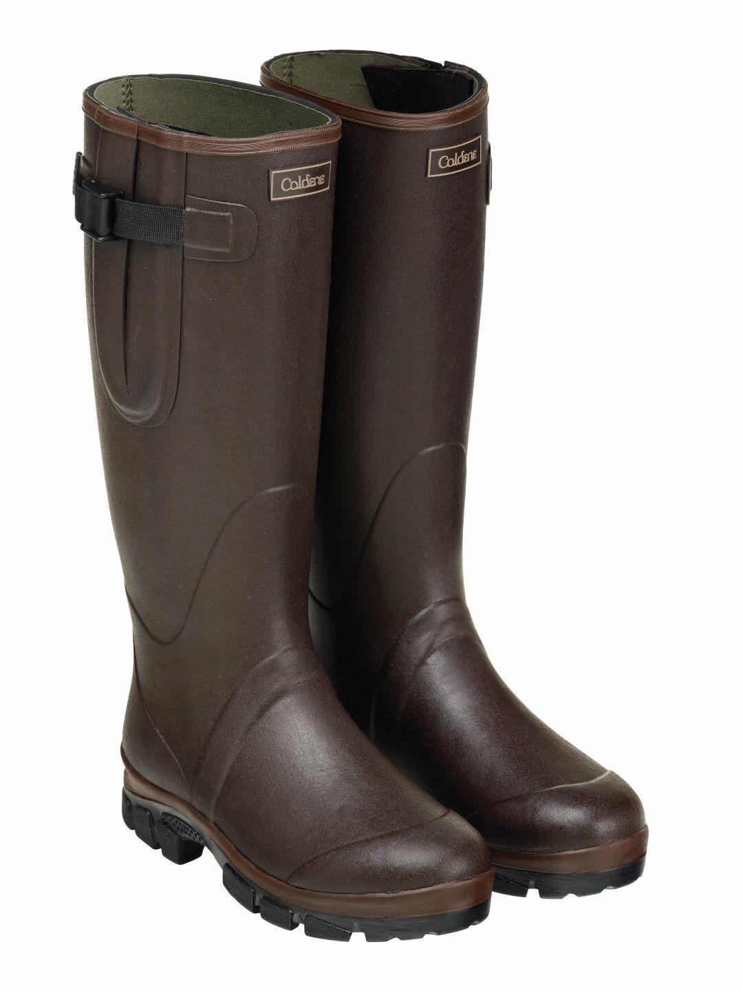 Caldene equestrian unisex westfield wellington rubber boots with neoprene lining   on sale 70% off