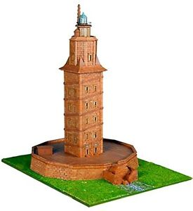 KERANOVA 30108 - Kit de construcción piedra. Torre de Hércules