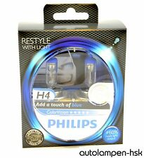 Philips H4 12V 60/55W P43t ColorVision blue +60% 2st.  12342CVPB +ANGEBOT+