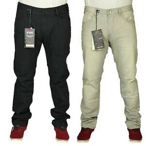 EXE-para-hombres-Smart-Casual-ropa-de-trabajo-regular-Fit-Jeans-Denim-Pantalones-de-vestir-de