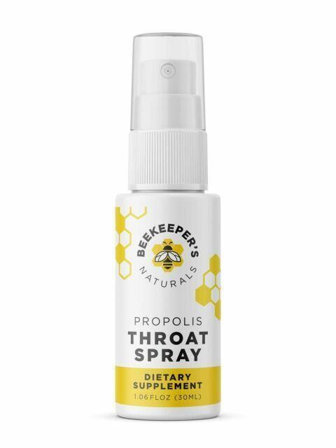 Beekeeper S Naturals Bee Propolis Throat Spray 1 06oz For Sale Online Ebay