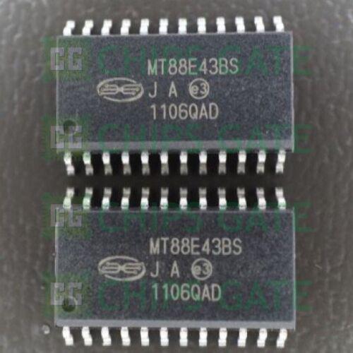SOP24 2PCS NEW MT88E43BS MITEL D//C:00