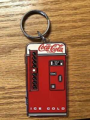 Coca-Cola Machine COKE Keychain Key Chain 1950/'s