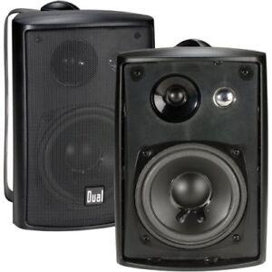 Dual-Electronics-Lautsprecher-3-way-High-Performance-Indoor-Outdoor-Studio-Regal