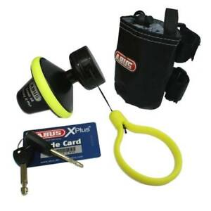 Abus Granit Victory X-Plus 68 Roll-Up Motorcycle Disc Lock Thatcham Cat 3