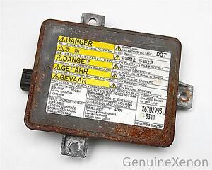 Acura TL Type S Xenon HID Ballast Control Module Inverter - 2002 acura tl hid ballast
