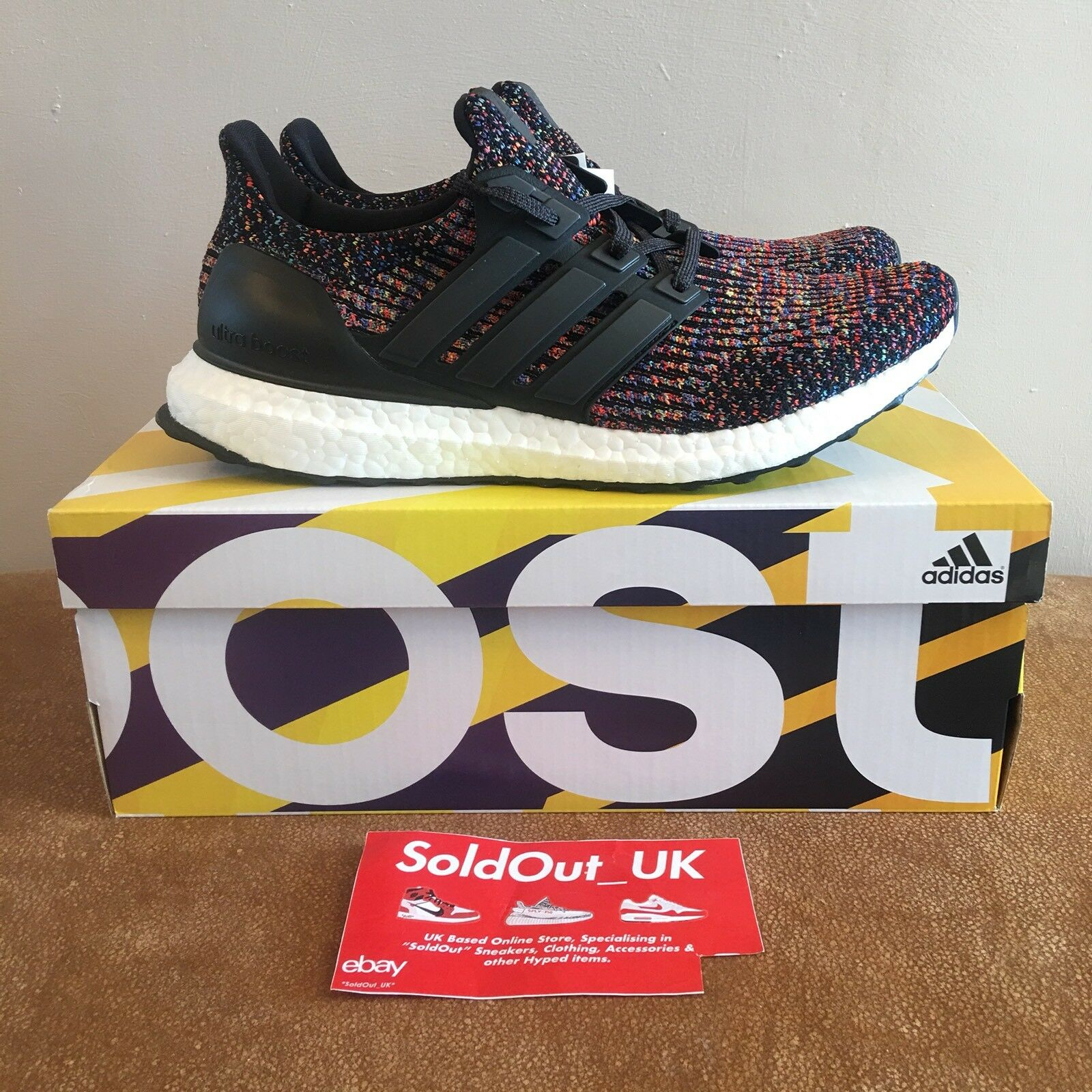 Adidas Ultra Boost Multicolour 3.0 Ltd  UK8 US8.5 CG3004 scorte morte