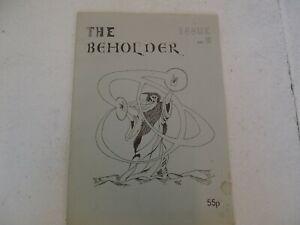 Agressif Beholder Fanzine Issue 6-afficher Le Titre D'origine Avec Des MéThodes Traditionnelles