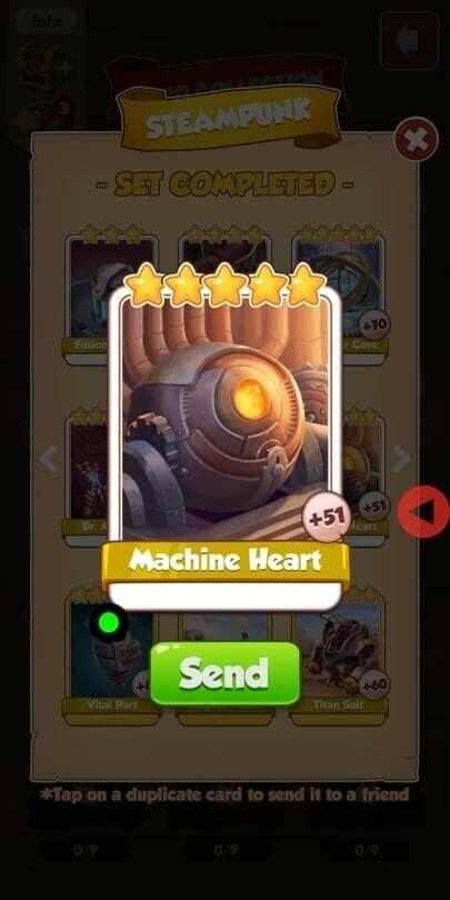 Coin Master Card Machine Heart